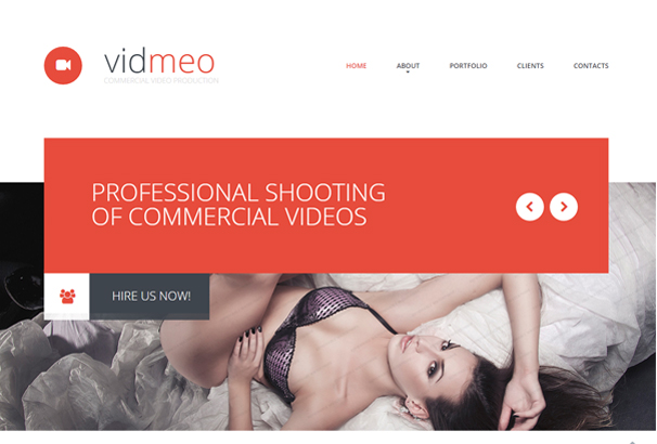 Vidmeo is a fully responsive Video theme.
